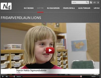 Friðarritgerðarsamkeppni Lions